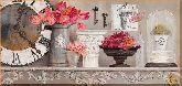 Цветы на камоде, картина, Модерн натюрморт №67