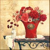 Красота роз, картина, Модерн натюрморт №68