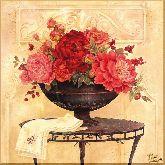 Розы в чаше, картина, Модерн натюрморт №69
