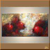 Сочные яблоки, картина, Модерн натюрморт №74