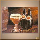 Пенистое пиво, картина, Модерн натюрморт №81