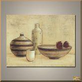 Маки и кувшины, картина, Модерн натюрморт №87