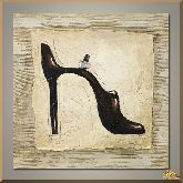 Туфелька с пряжкой, картина, Модерн натюрморт №90