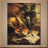 Голос скрипки, картина, Модерн натюрморт №96