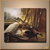Одинокая скрипка, картина, Модерн натюрморт №99