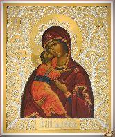 Икона Пресвятой Богородицы Владимирская
