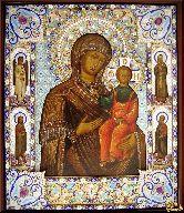 Икона Божией матери Одигитрия Смоленская -19 век