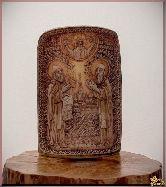 Икона Святой преподобный Сергий и Герман Валаамские