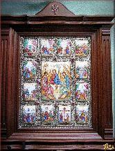 Икона Святая троица с праздниками