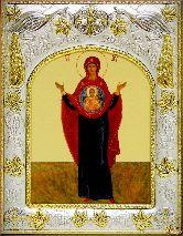 Икона Божьей Матери Знамение (И)