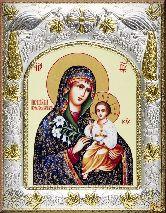 Икона Божьей Матери Неувядаемый цвет (И)