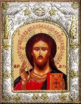 Икона Венчальная пара Спаситель (И)