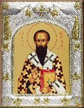 Икона именная Василий Великий