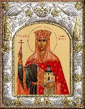 Икона именная Тамара, царица Грузии