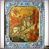 Коллекционная икона Георгий Победоносец