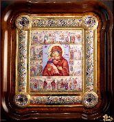 Икона Житие Владимирской Богоматери