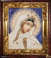 Икона Образ пресвятой Богородицы Всескорбящая