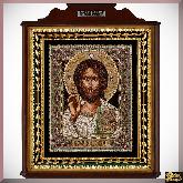 Икона Господь Вседержитель ручная работа