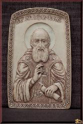 Икона Святой преподобный Александр Свирский чудотворец
