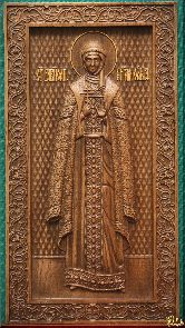 Икона Святая княгиня Ольга (ростовая)