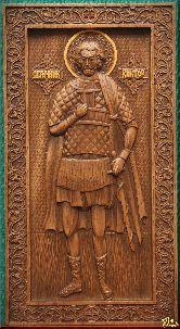 Икона Священномученик Виктор (ростовой)