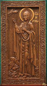 Икона Святая мученица Наталья (ростовая)