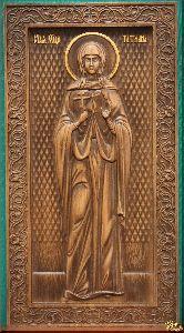 Икона Святая мученица Татьяна (ростовая)
