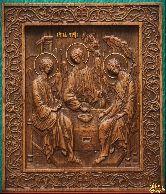 Икона Святая Троица (А)