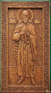Икона Пророк Илья (ростовой)