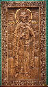 Икона Святой Дмитрий Донской (ростовой)