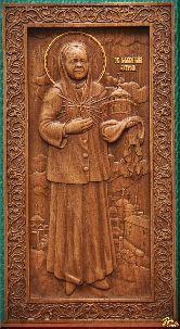 Икона Святая Блаженная Матрона (ростовая)