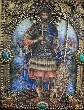 Именная икона Иоанн воин