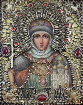Именная икона Ольга, княгиня равноапостольная