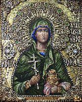 Именная икона Анастасия Узорешительница