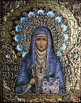 Именная икона Святая преподобномученица Елизавета