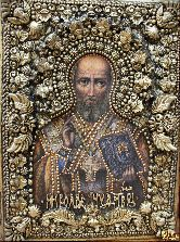 Икона Святитель Николай, архиепископ Мир Ликийский, чудотворец (А)