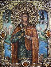 Именная икона Юлия (Иулия) Карфагенская