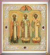 Икона трех святителей