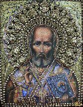 Икона Святитель Николай, архиепископ Мир Ликийский, чудотворец
