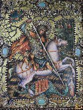 Икона Чудо Святого Георгия о змии