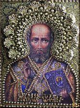 Икона Святитель Николай, Архиепископ Мир Ликийских, чудотворец
