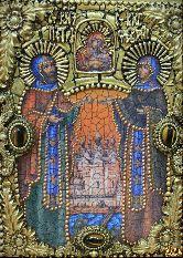 Икона Петр и Феврония, муромские