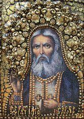Икона Преподобный Серафим Саровский, чудотворец