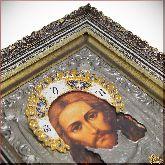 Икона Спас Нерукотворный со стразами