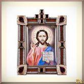 Настольная икона Спас Вседержитель