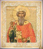 Икона св. Владимира из серебра