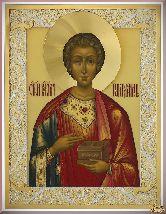 Икона Святой великомученик Пантелеимон Целитель