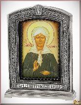 Икона Блаженная Матрона Московская