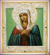 Икона Пресвятой Богородицы Умиление Серафимо-Дивеевская
