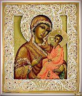 Икона Божьей Матери Тихвинская
